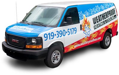WeatherProof Heating & Cooling van